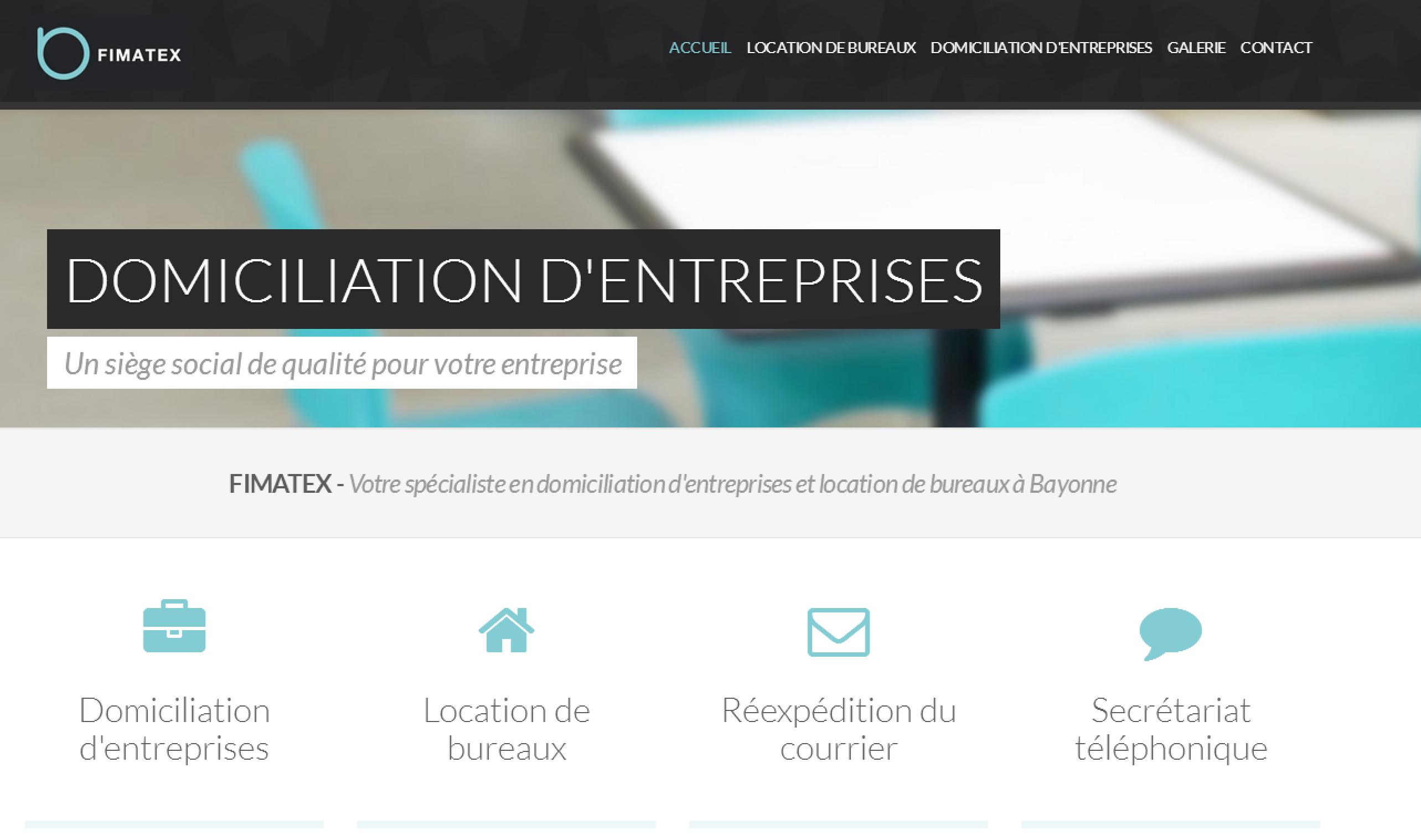 Site institutionnel FIMATEX