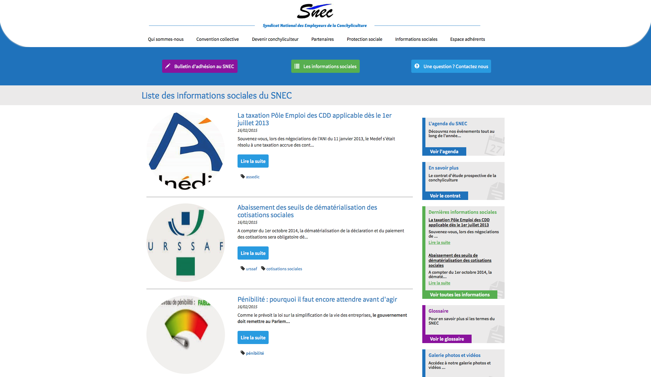 Site Administrable du SNEC